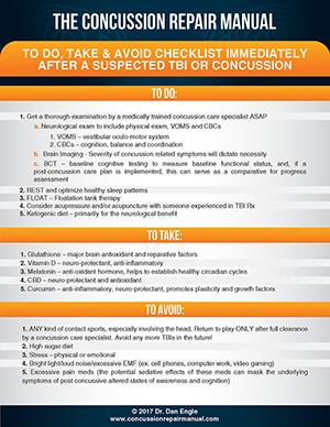 Concussion Checklist